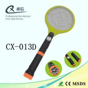 Durable Rechargeable Electronic Mosquito Repellent Killer Bat, Cockroaches Insect Zapper with 1LED & LED Torch, Fly Swatter pictures & photos