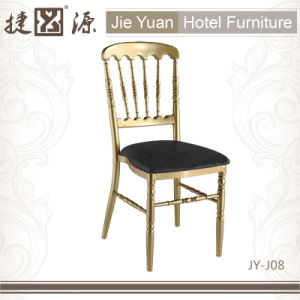 Metal Stackable Chiavari Chair with Cushion (JY-J08) pictures & photos