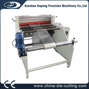 PVC Pet PP Plastic Film Roll to Sheet Cutting Machine pictures & photos