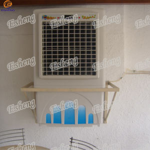 Airflow 6000m3/H Portable Water Fan Commercial Water Air Cooler with Speed Control Desert Air Cooler for Sudan Market pictures & photos
