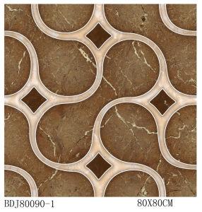 Foshan Puzzle Tiles 3D Flooring (BDJ80090-1) pictures & photos