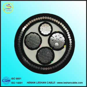 2017 Cu / Al / XLPE / PVC Insulated 0.6/1kv Swa Steel Wire Armored Power Cable pictures & photos