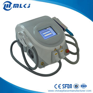 Professional Permanent Tattoo Removal Machine with 2 Handles Elight Laser pictures & photos