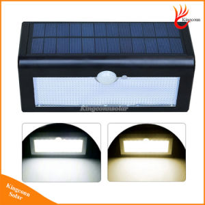 500lm Motion Sensor Waterproof 38 LED Solar Street Light Outdoor Garden Lampada Solar Garden Lamp Wall Mounted pictures & photos