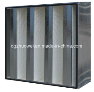 W Type High Capacity HEPA Filter pictures & photos