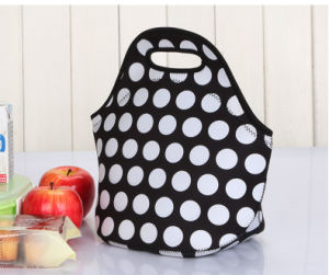 Hotsales Insulated Neoprene Lunch Bag for Us Market with Aluminum Foil pictures & photos