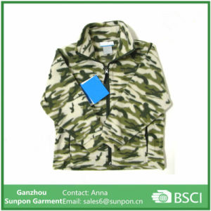 Boys Zing Fleece Camo Pattern and Zing Fleece Jacket pictures & photos
