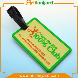 Custom Design Printing Soft PVC Baggage Tag pictures & photos