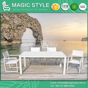 High Quality Sling Chair Outdoor Textile Chair Garden Dining Set (Magic Style) pictures & photos