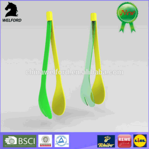 Hot Selling Promotional Colorful Plastic Salad Fork