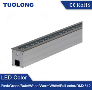24W High Brightness Linear Outdoor LED Ground Light Waterproof Ground Lighting pictures & photos