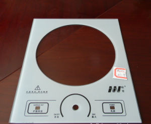 Clear & Printing Gas Stove Usage Tempered Glass pictures & photos