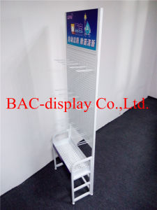 Retail Store Display Rack Stand with Metal Hooks pictures & photos