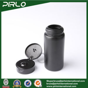 150ml 5oz 150g Black Color Plastic Bottle for Talcum Powder Baby Body Talcum Powder Bottle pictures & photos