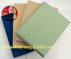 Fabric Ceiling Acoustic Mineral Fibre Panel Decoration Panel Board Sheet pictures & photos