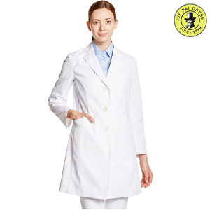 Factory OEM Fashionable Lab Coat Unisex White Cotton Medical Hospital Uniform pictures & photos