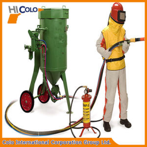 High Pressure Mobile Abrasive Blasting Machine pictures & photos