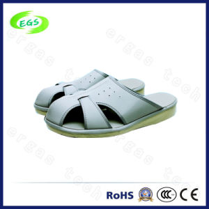 Work Place Spu Clean Room Slipper/Shoes, ESD PVC Slipper pictures & photos