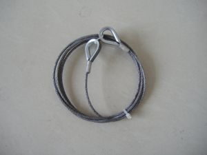 Steel Wire Rope Cable Loop Ends 6X19+Iws Sling pictures & photos