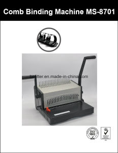 MS8701 A4 Base Heavy Duty Aluminium Comb Binding Machine pictures & photos