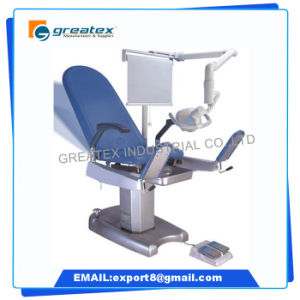 Multifunction Electric Gynecology Adjustable Backrest Examination Table Gynecological Examination Chair pictures & photos