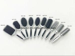 Sliver Plastic Professional Hair Brush pictures & photos
