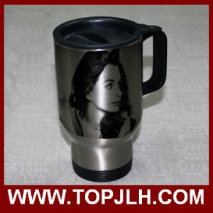 Heat Press Printed Stainless Steel Car Mug Driver Coffee Cup pictures & photos