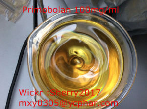 Muscle Building Oil Based Steroid Methenolone Acetate 100mg/Ml Primobolan pictures & photos