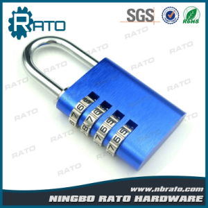 Keyless Colorful Combination Aluminium Alloy Padlock pictures & photos