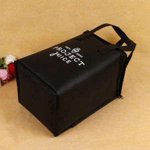 Promotional Custom Non-Woven Reusable 4 Bottle Wine Cooler Bag pictures & photos