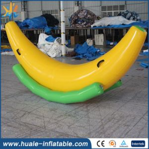 Banana Shape PVC Inflatable Water Totter for Fun