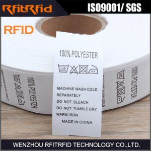 UHF Programmable RFID Clothing Label pictures & photos
