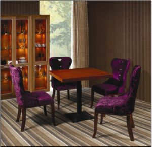 Hotel Dining Room Sets/Hotel Restaurant Furniture/Hotel Chair and Hotel Table (CHN-016) pictures & photos