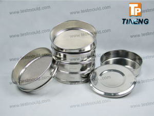 ISO Laboratory Woven Wire Perforated Plate Test Sieve pictures & photos