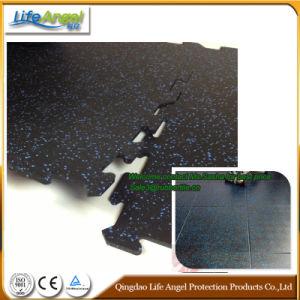 500*500 mm Interlock Rubber Mat Rubber Sheet Gym Floor pictures & photos