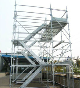 Safe Ringlock Scaffold with Construction A001 pictures & photos