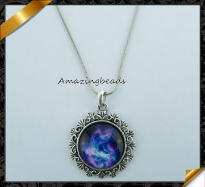 High Quality 2015 New Fashion Starry Sky Pendant Necklace (FN039)