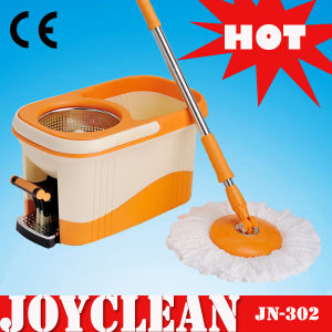 Joyclean Deluxe Square Pedal Spin Mop Bucket Floor Cleaning Mop (JN-302) pictures & photos