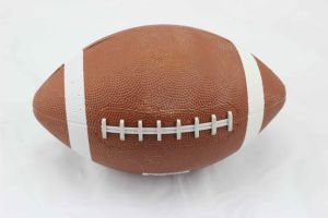 Rubber Machine Stitched Ball American Football pictures & photos
