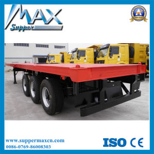 40f Flatbed Semi Trailer with Air Suspension pictures & photos