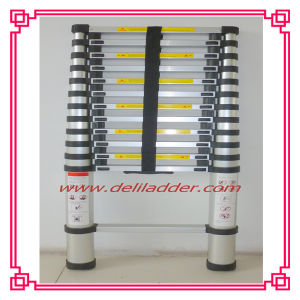 3.85m Telescopic Ladder with 3 Cm Finger Safety Gap pictures & photos