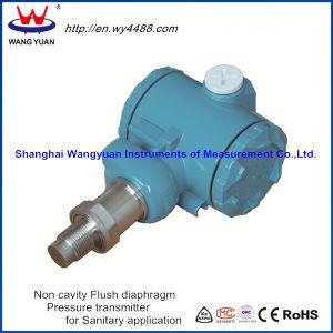Non-Cavity Flush Diaphragm Pressure Transmitter pictures & photos