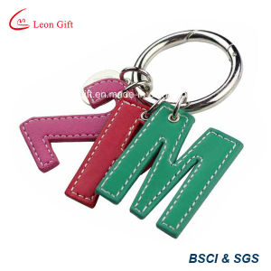 Custom Colorful PU Key Ring pictures & photos