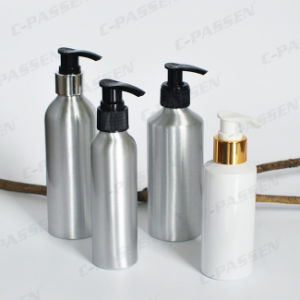 Aluminum Cosmetic Bottle with Lotion and Spray Pump (PPC-ACB-043) pictures & photos