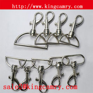 Dog Hook Spring Snap Hook Swivel Eye Bolt Snap Hook Key Hook Alloy Hook Swivel Hook Metal Hook for Handbag Luggage pictures & photos