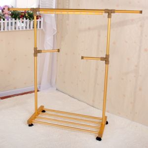 Single-Pole Telescopic Clothes Rack (188b-S)