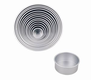 4 Inch Depth Professional High Quality Bakeware Aluminum Anodized Round Cake Pan (MY2064A-MY2076A) pictures & photos
