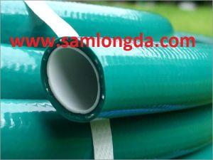Non Torsion PVC Reinforce Garden Hose (5 Layer) pictures & photos