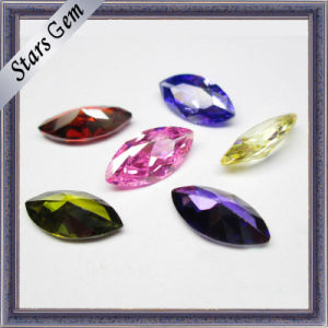 Fashionable Amethyst Cubic Zirconia in Marquise Shape pictures & photos