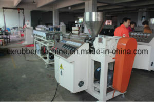 Low Smoke Free Halogen Wire Cable Extruding Machine for PVC PP PE EPDM pictures & photos